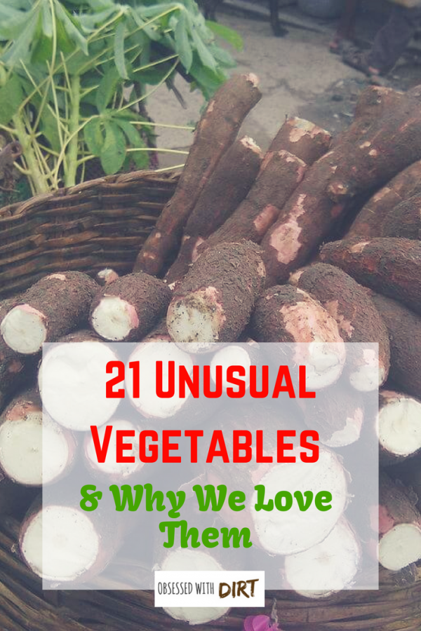 unusual vegetables