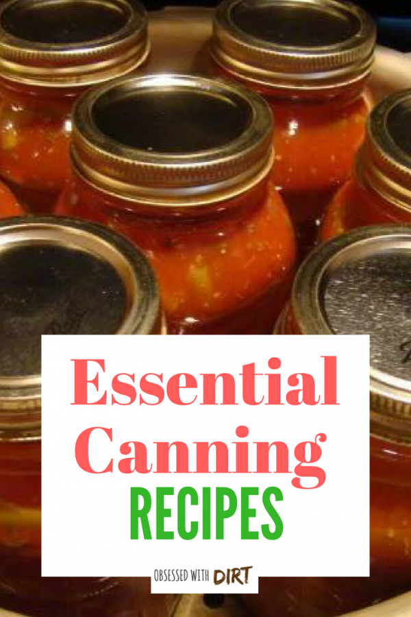 essential canning tips