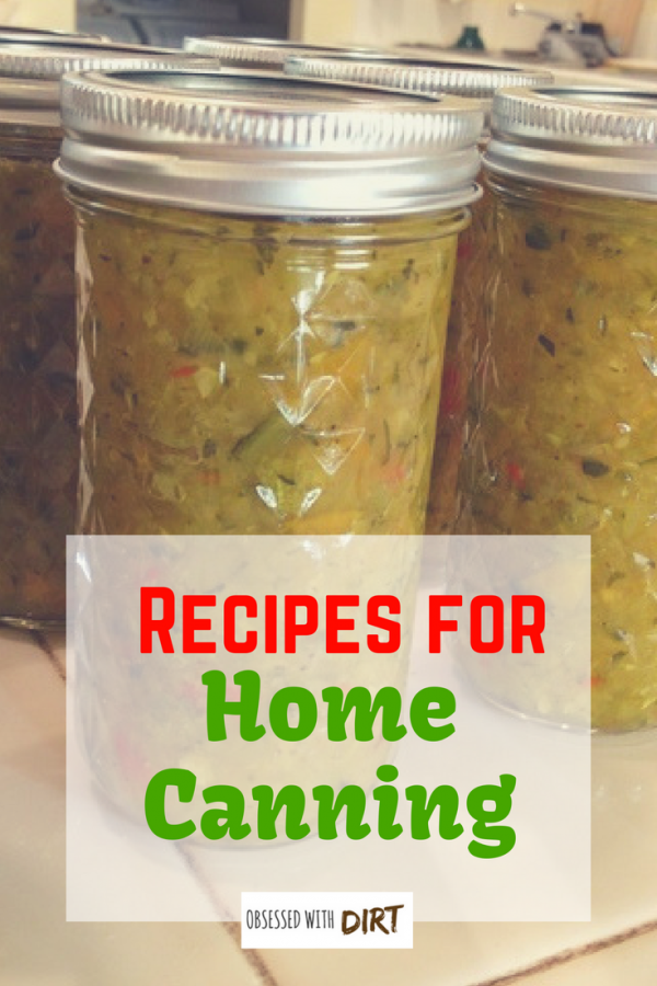 home canning recipes