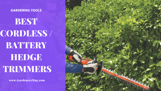 Best Cordless – Battery Hedge Trimmer